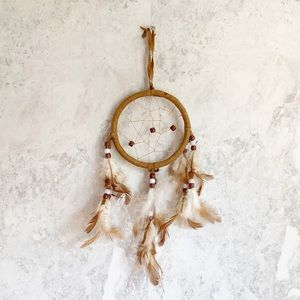 Other - Dreamcatcher Wall Hanging Decor Beaded Feathered